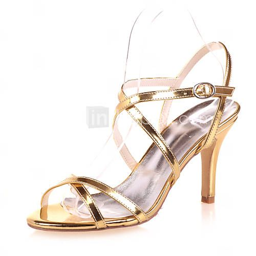 Women's Spring Summer Fall Patent Leather Wedding Party & Evening Stiletto  Heel Black Blue Silver Gold. Wedding Shoes ...