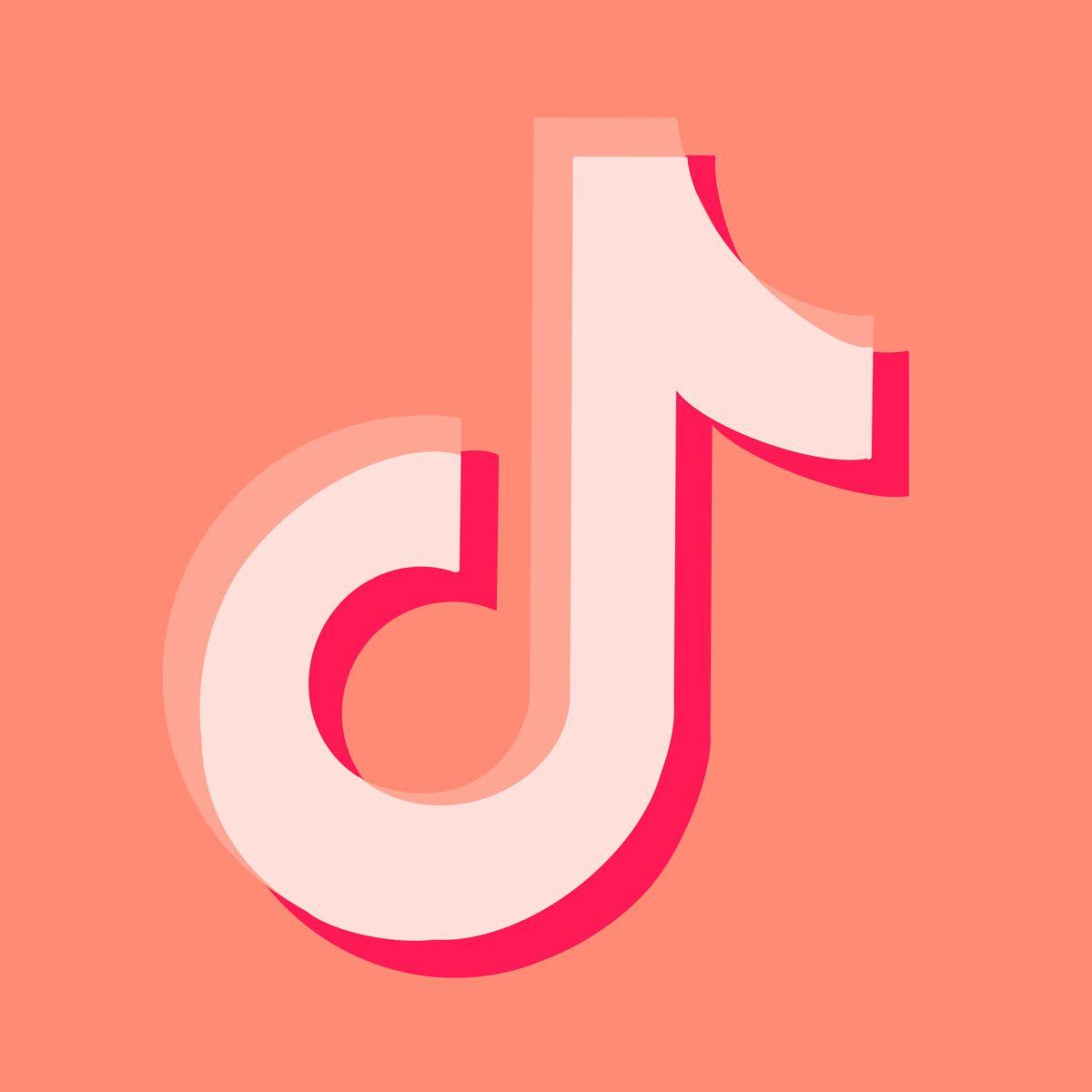 Tiktok App Icon In Coral Pink App Icon Peach App App Covers