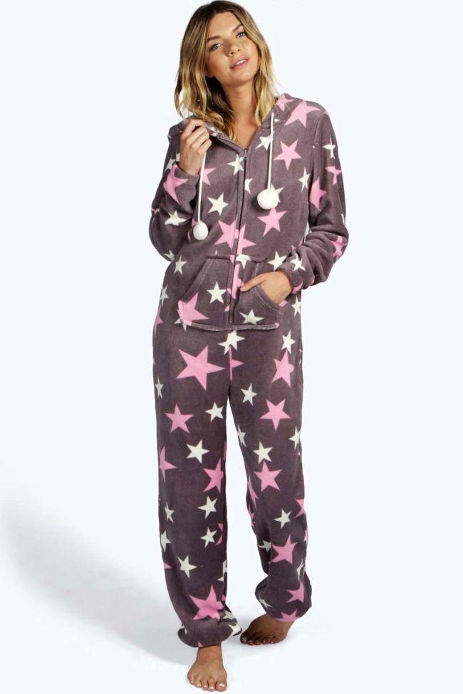6835c96404 Star Soft Fleece Womens  Onesie Australia Oneises