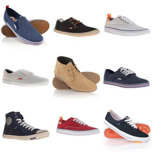 5925fe1416ad Mens Superdry Footwear Various Styles NOW £9.99 FREE DELIVERY at Superdry  eBay Outlet