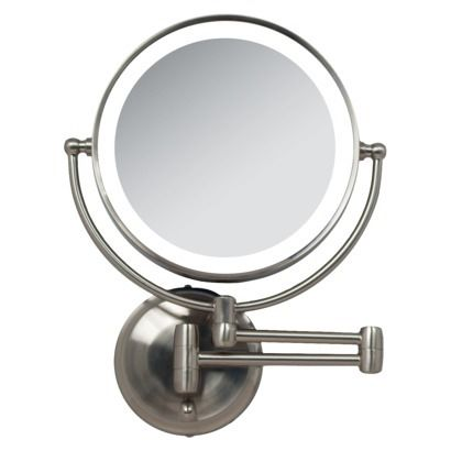 I Want This Zadro Dual Led Lighted Wall Mount Mirror 1x
