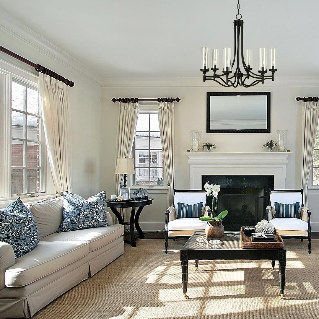 The Room That No One Uses Gets A Refresh With The Sophia Transitional Chandelier In Aged Bronze Bedroom Seating Area Home Living Room Inspiration