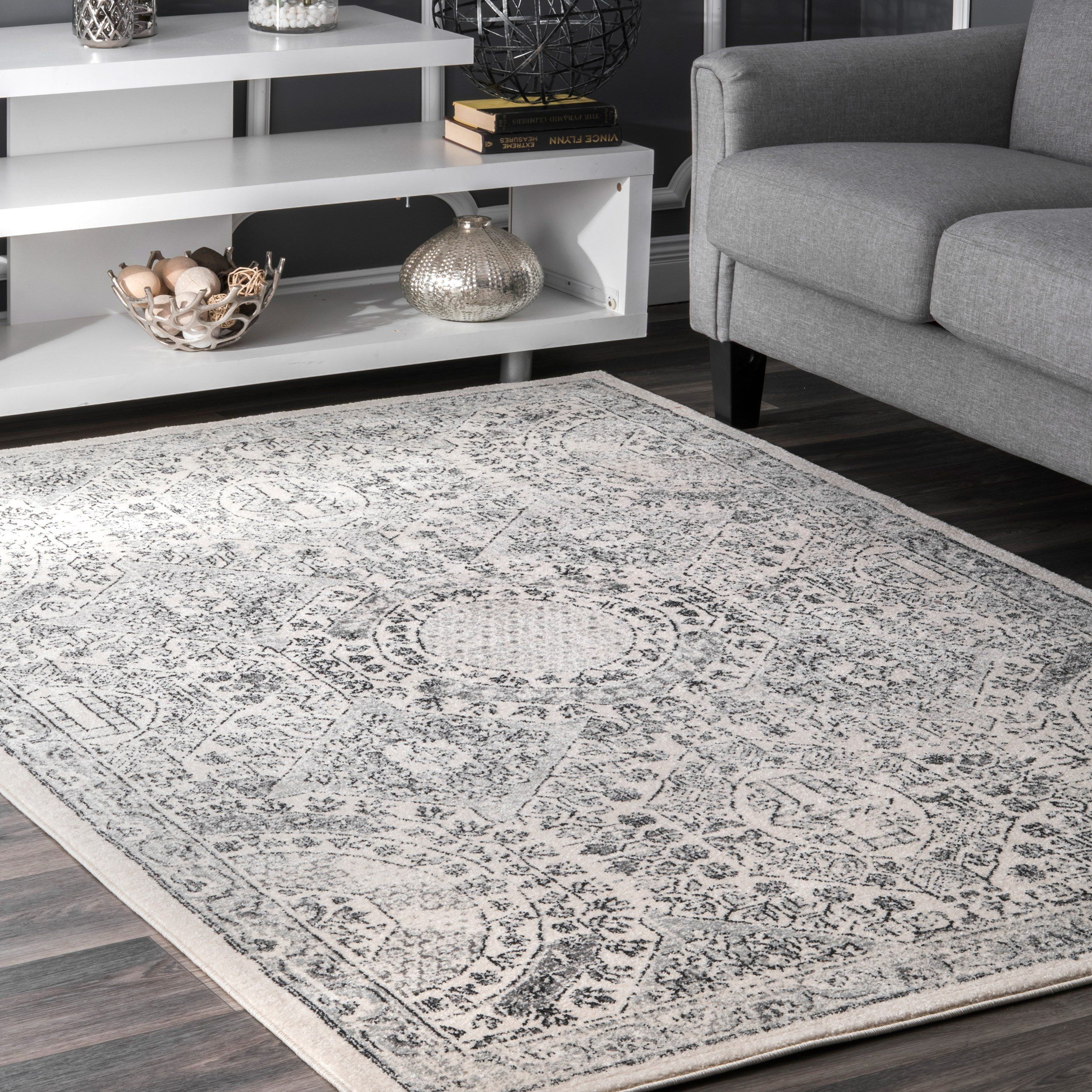 Vintage Minta Traditional Area Rugs Grey Rugs Cool Rugs