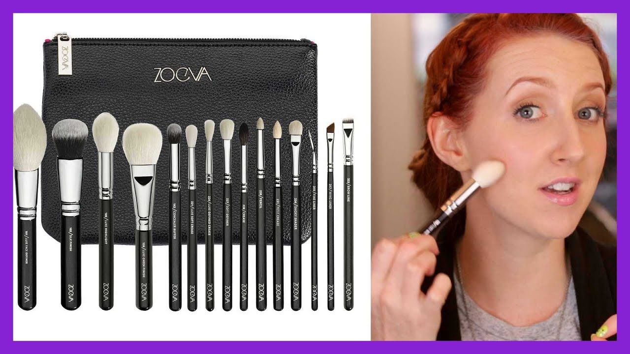 Zoeva Luxe Makeup Brush Review YouTube (With images