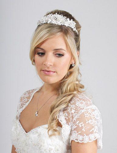 TR1530 tiara www.adorebrides.co.uk