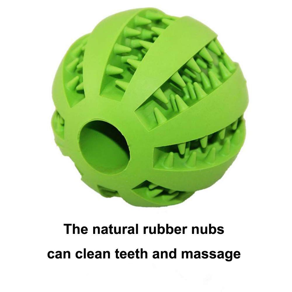 Rubber Dog Toy Balls Umiller Dog Food Toy Iq Pet Treat Ball Tooth