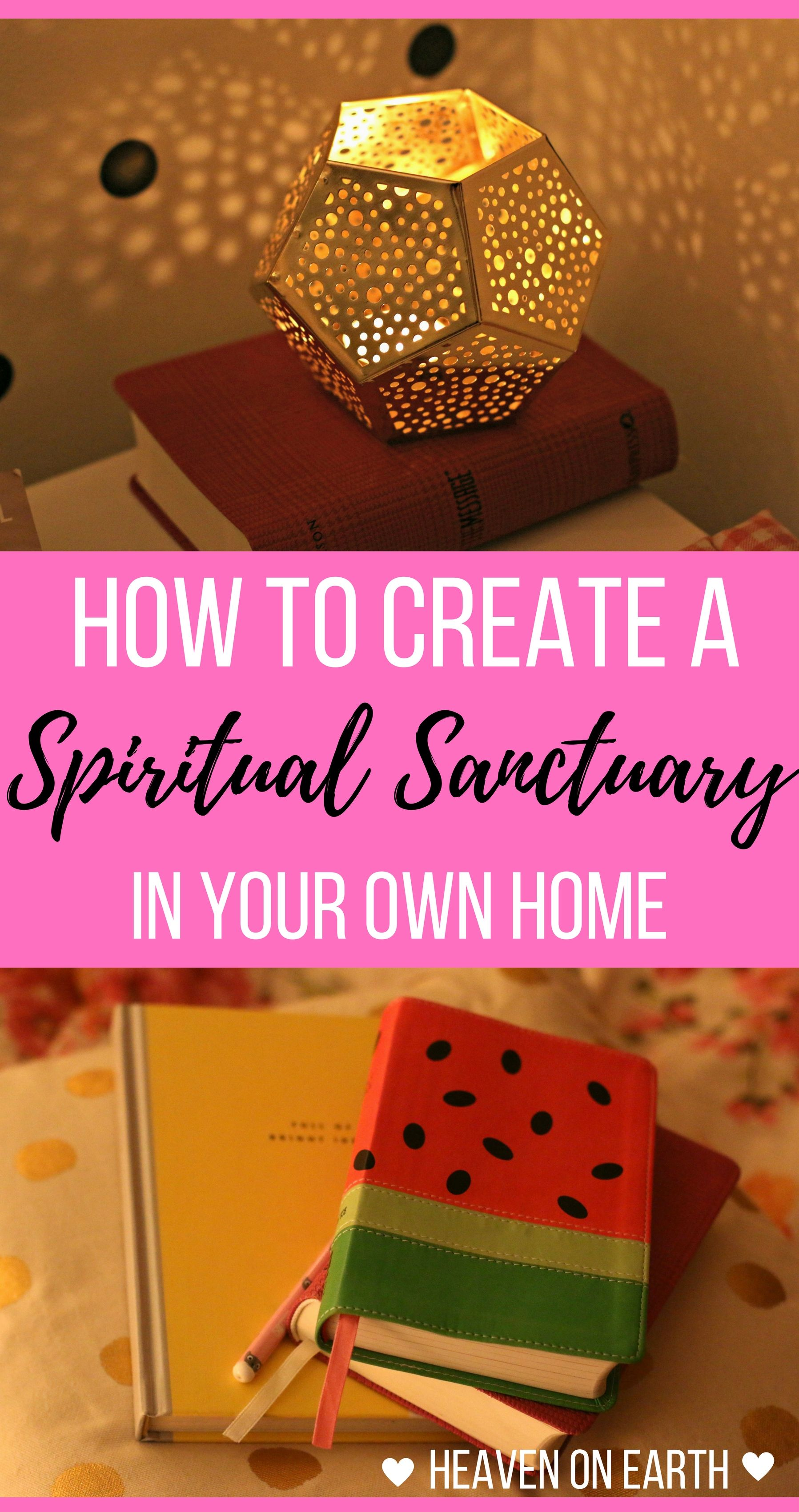 Ever wanted to have a special place you could go to spend time with God, free…