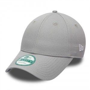 New Era 9Forty Basic Cap - Grey  bb5e0b3387d0