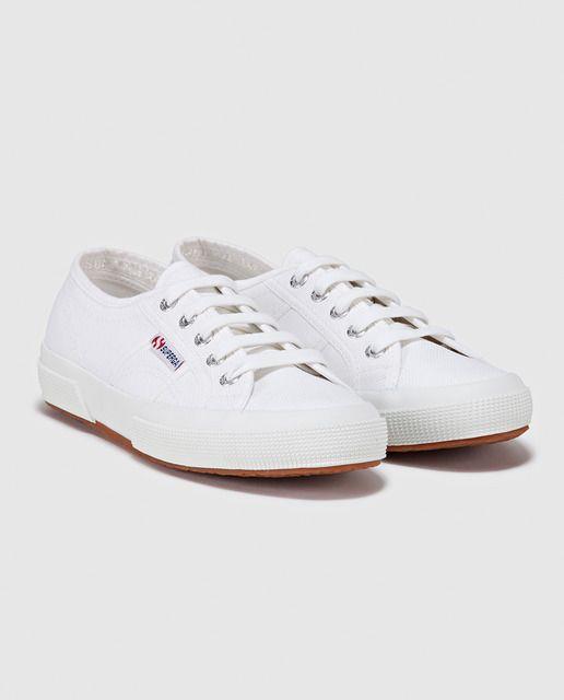 Zapatos blancos SUPERGA para mujer tQ9Hk0K