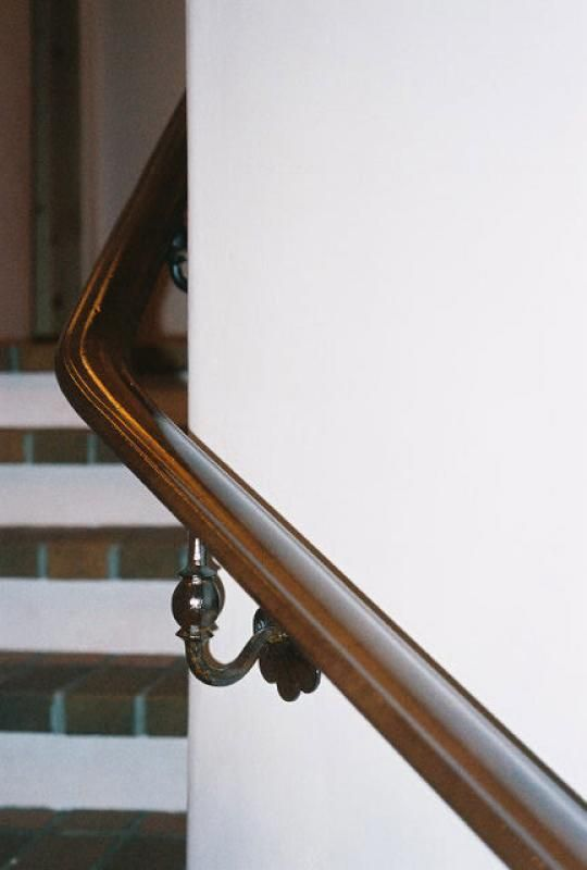 Metal Handrails With Images Wall Mounted Handrail Stair