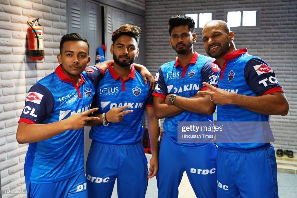 Cricketers Prithvi Shaw, Rishabh Pant, Shreyas Iyer and