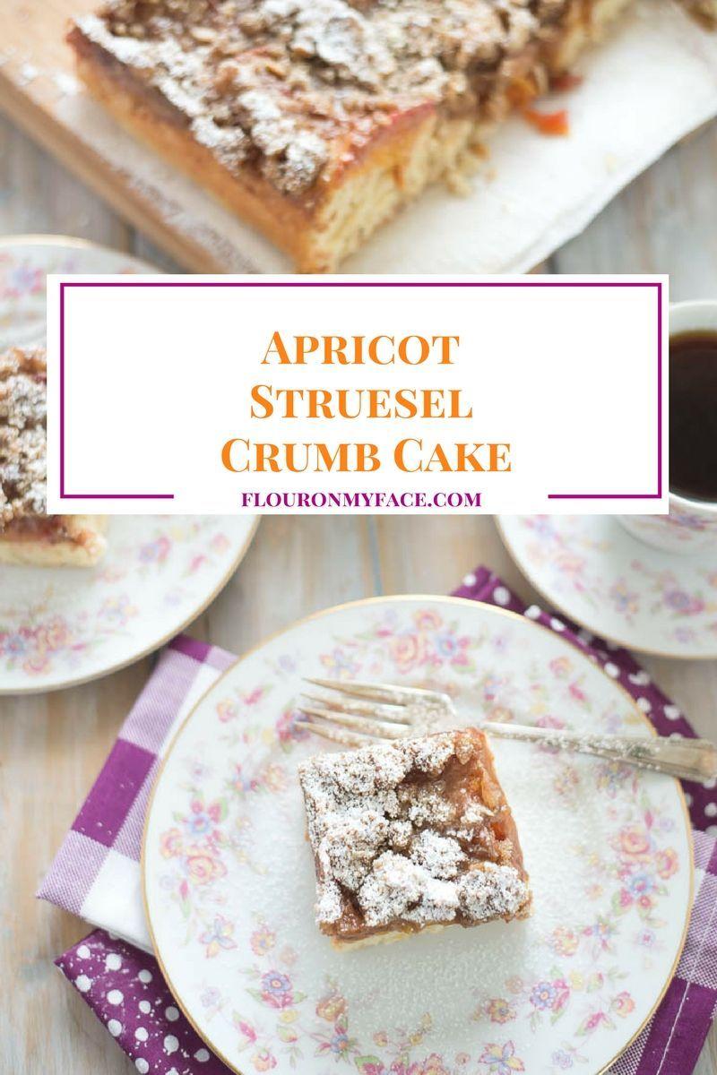 Apricot Struesel Crumb Cake Recipe Homemade Cake and Rolls