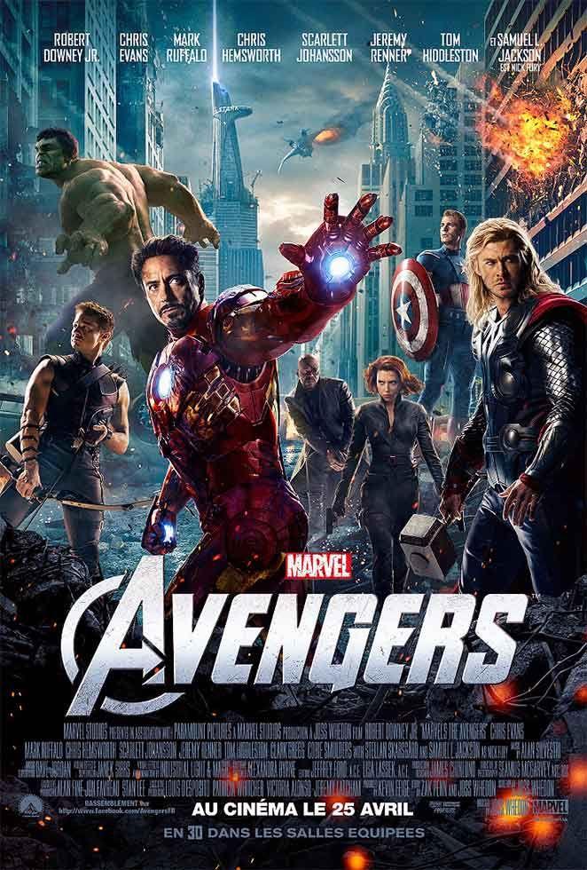 Avengers - Affiche France