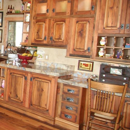 Have To Remember That A Cheap Set Of Cabinets (oak Or Pine