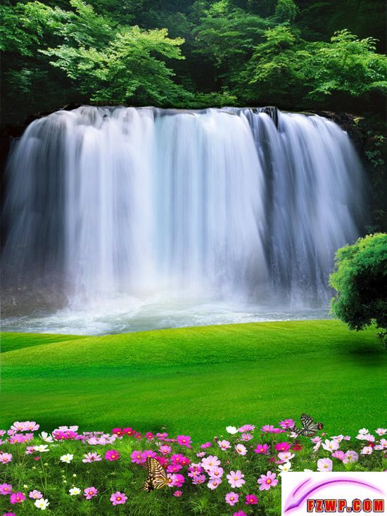 Pretty Photo Background Images Studio Background Images Waterfall Photography