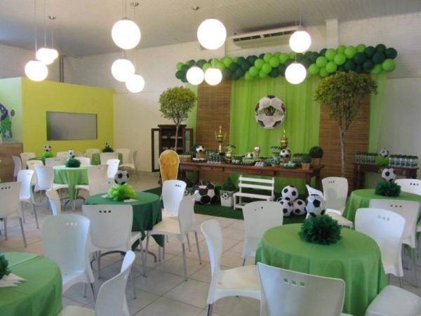 Ideas para fiesta tem tica de f tbol soccer party for Sillas para fiestas