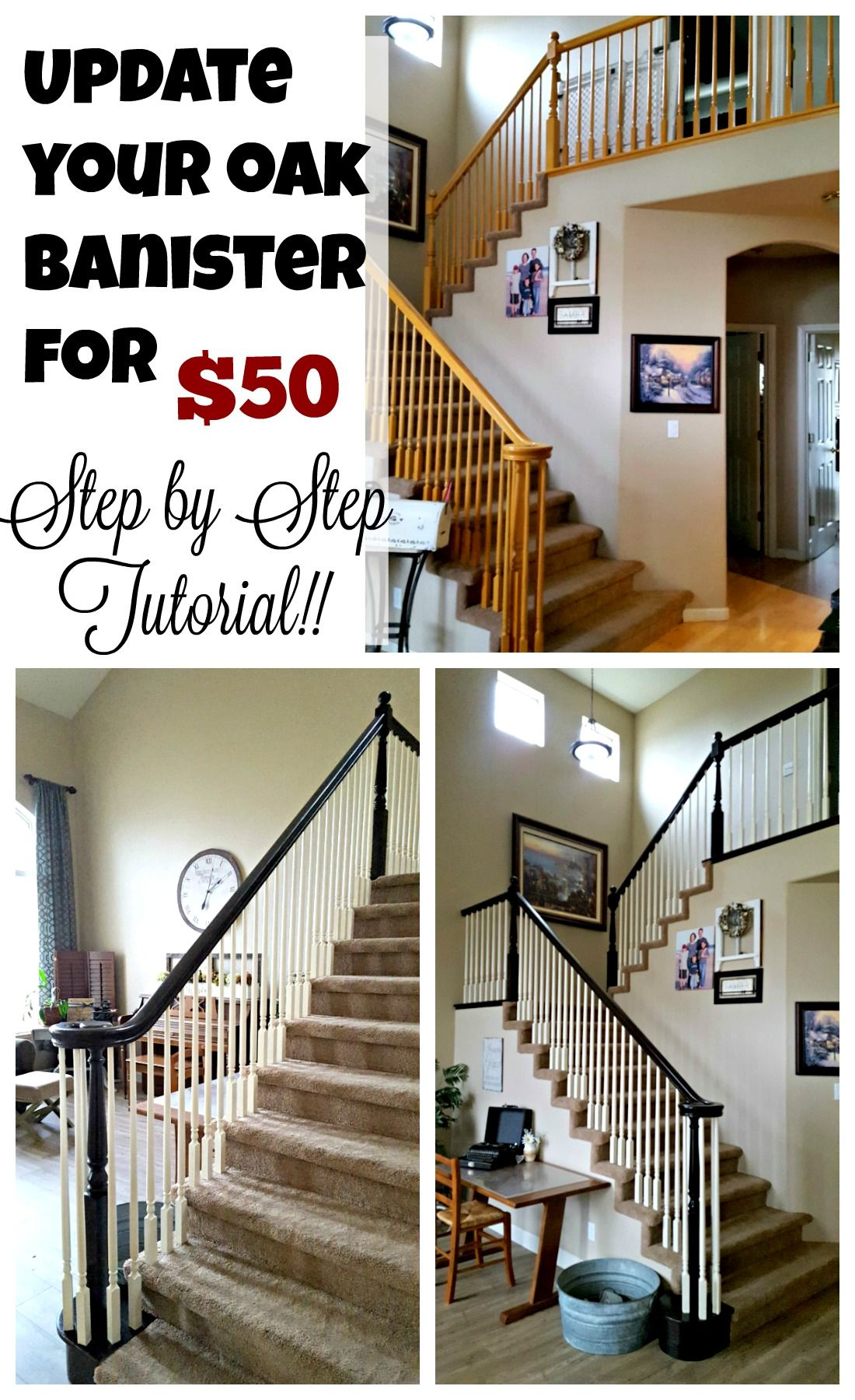 Best Staircase Refinishing The Easy Way And For Under 50 640 x 480
