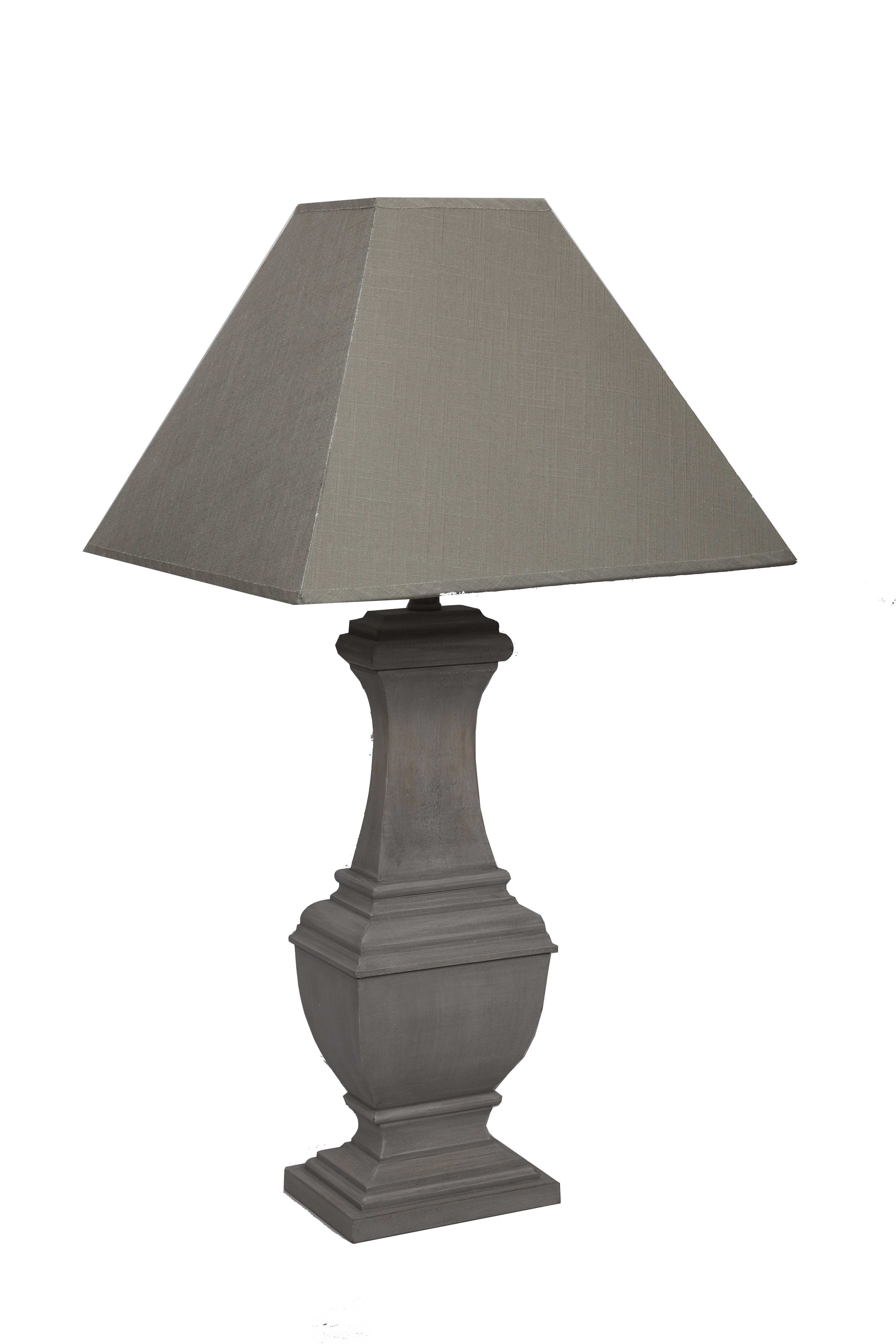 Lampe avec chapeau SEB Shabby chic Romantique