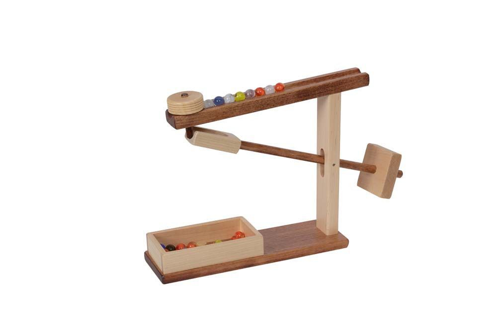 Marble Machine Working Mechanical Wood Toy Amish Handmade Game Marble Machine Marble Toys Wood Toys