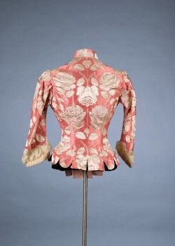 Bodice by Charles Frederick Worth, c.1880-85 (Back)
