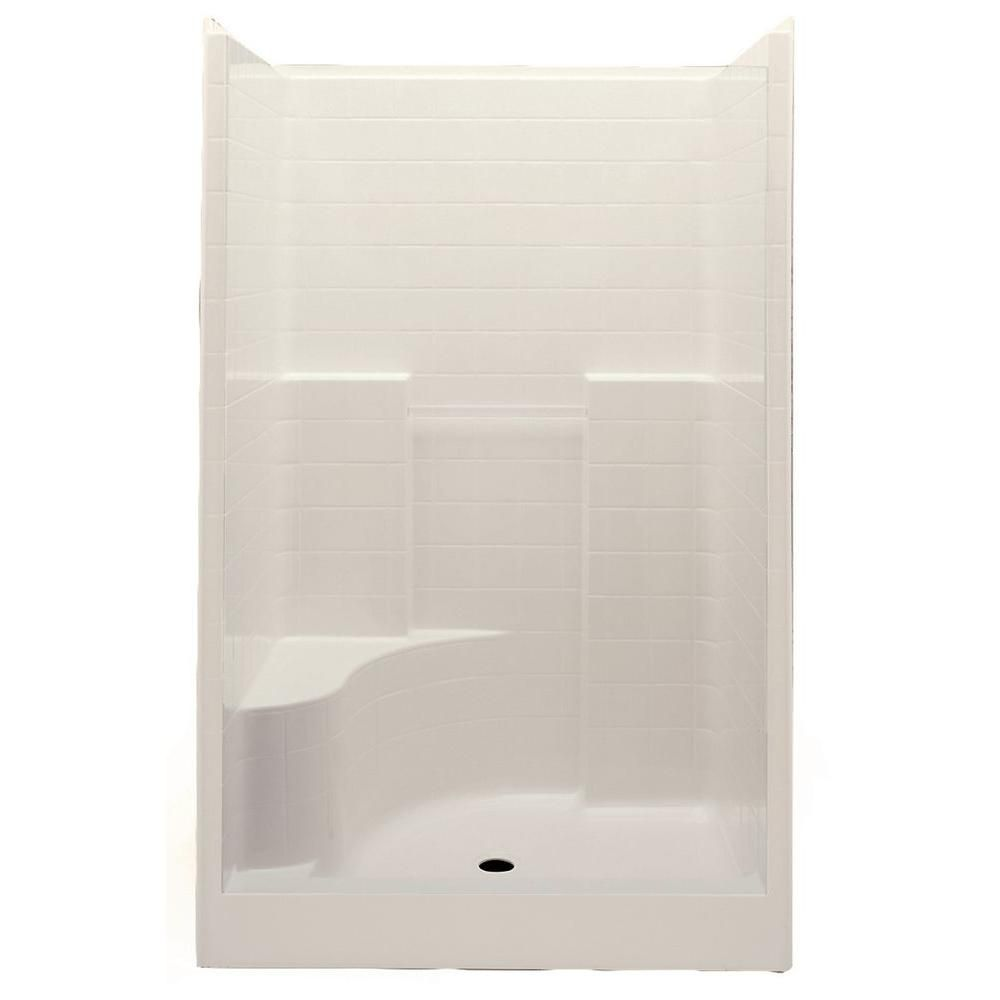 Aquatic Everyday Smooth Tile 48 In X 34 9 In X 76 In 1 Piece