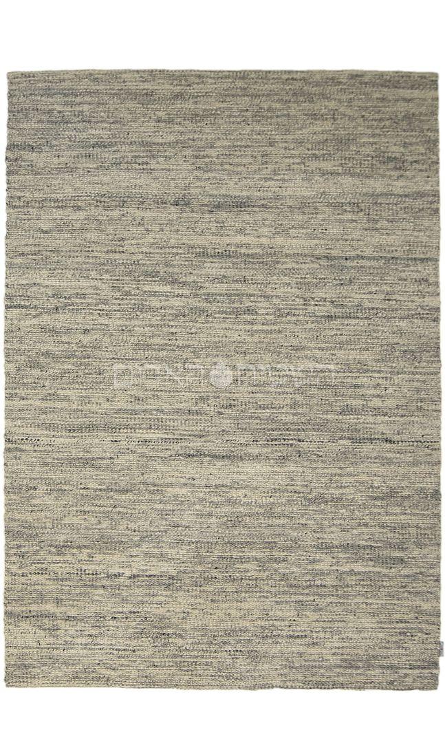 Gray Handmade Wool Weave Rug
