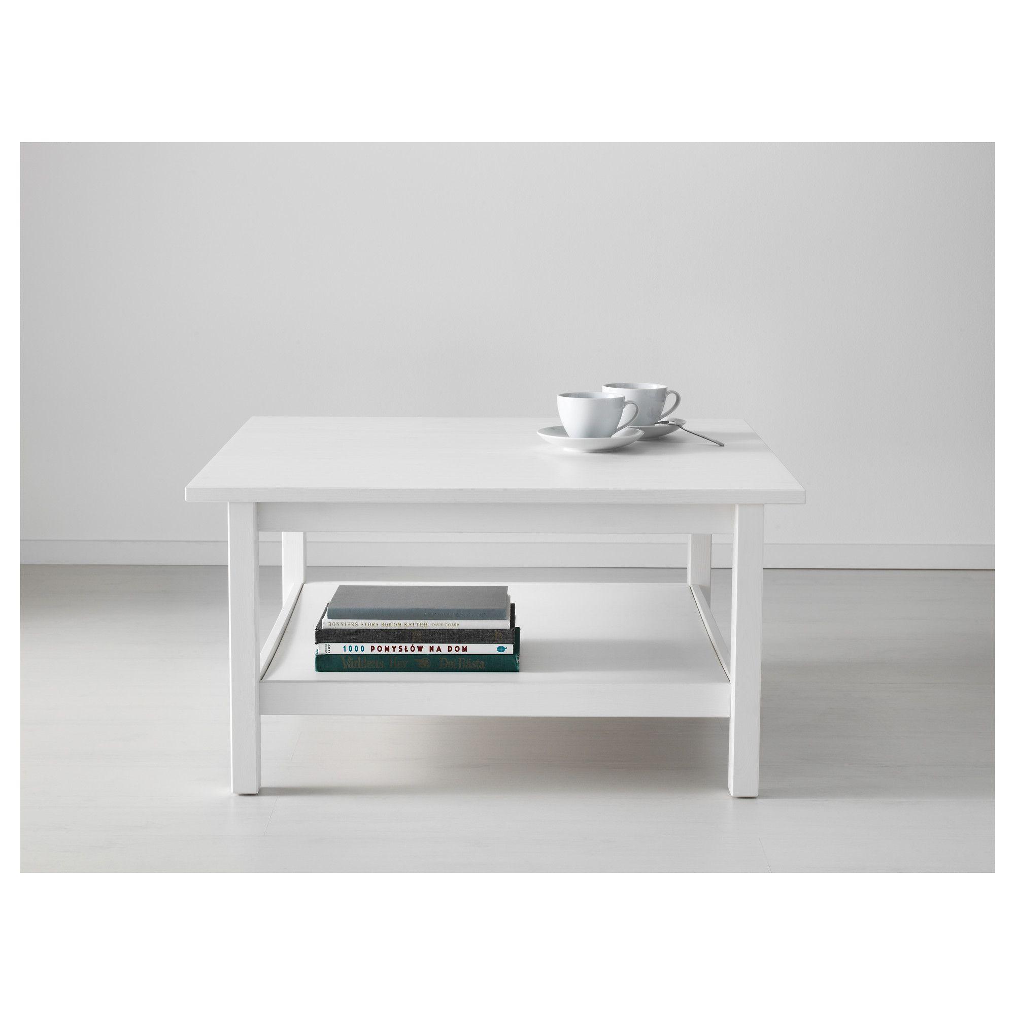 Hemnes Holna Masa 90h90 Byalo Ikea Coffee Table Coffee Table White Ikea [ 2000 x 2000 Pixel ]
