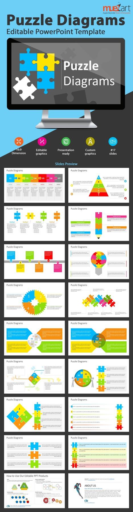 Puzzle Diagram Templates Presentation Design Scoop.it
