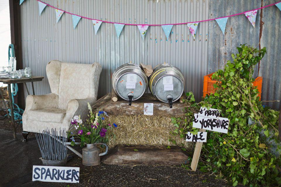 A Handmade, MissMatched and Rustic Somerset Farm Wedding
