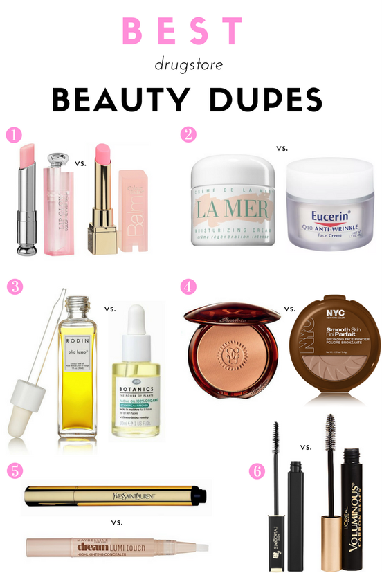 The Best Drugstore Beauty Dupes Kirsten Brusse