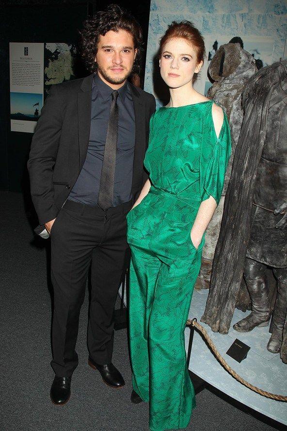 Kit harington girlfriend 2013