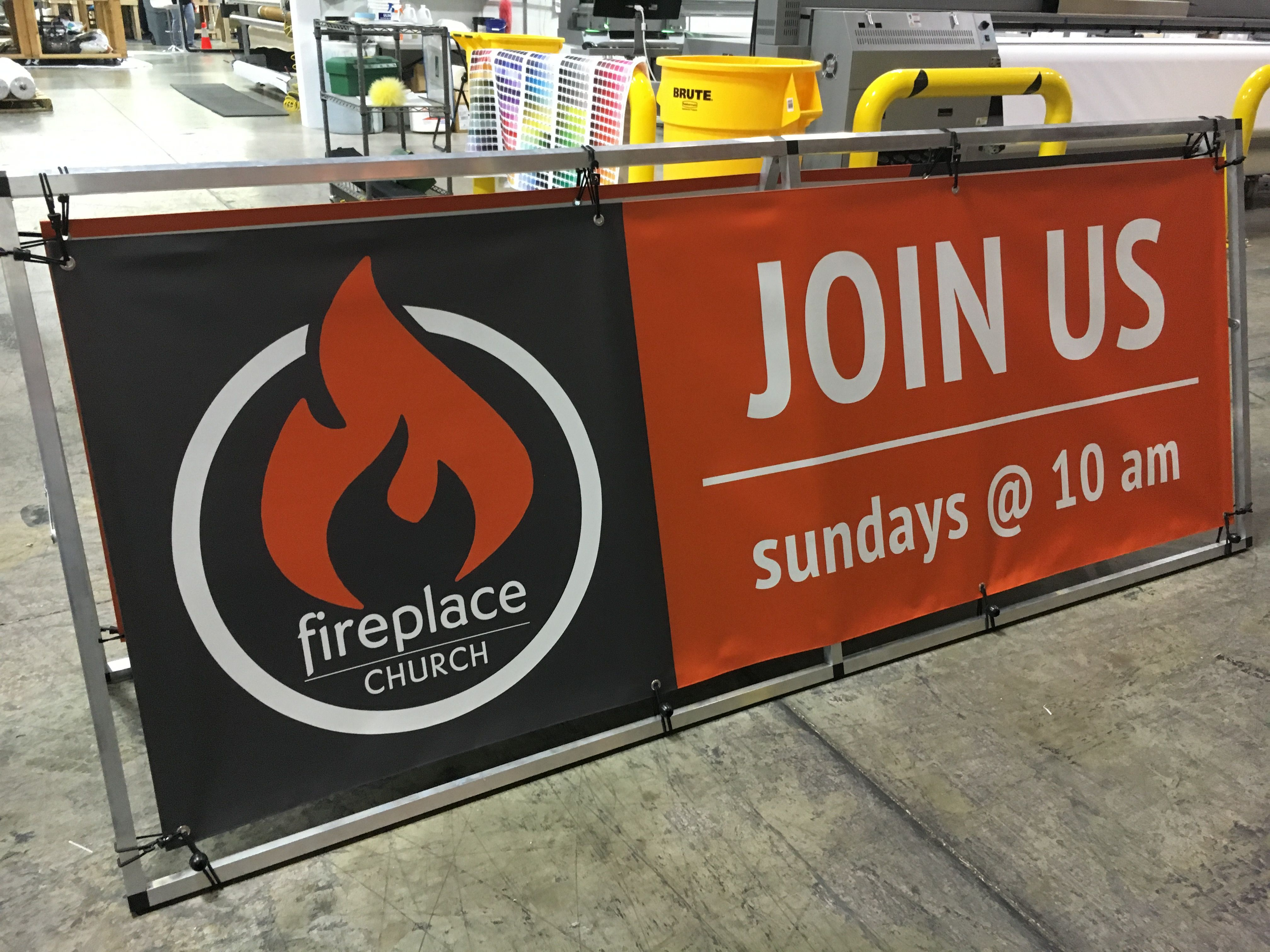 Fireplace Church (Blacksburg, VA) launched in January 2016. Made ...