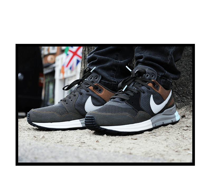 Nike Lunar Pegasus 89 Newsprint Dusty Grey Black - 599472-001 - Sneaker  District