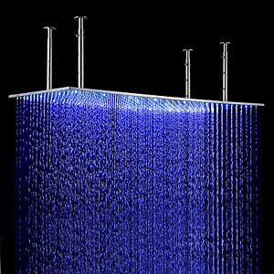 Juno 31 Large Gold Led Rain Shower Head Rain Shower Head Rain Shower Shower Heads