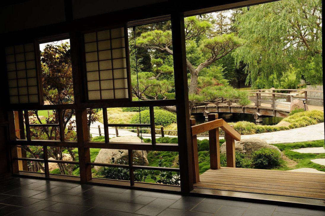 The japanese garden was designed by dr koichi kawana for Japanese garden inside house