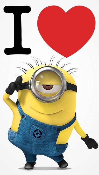 Love The Minions From Despicable Me Minions Minions Funny Cute