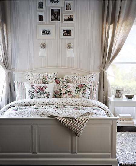 Dormitorio cl sico de ikea habitacion nu o pinterest - Dormitorios rusticos ikea ...