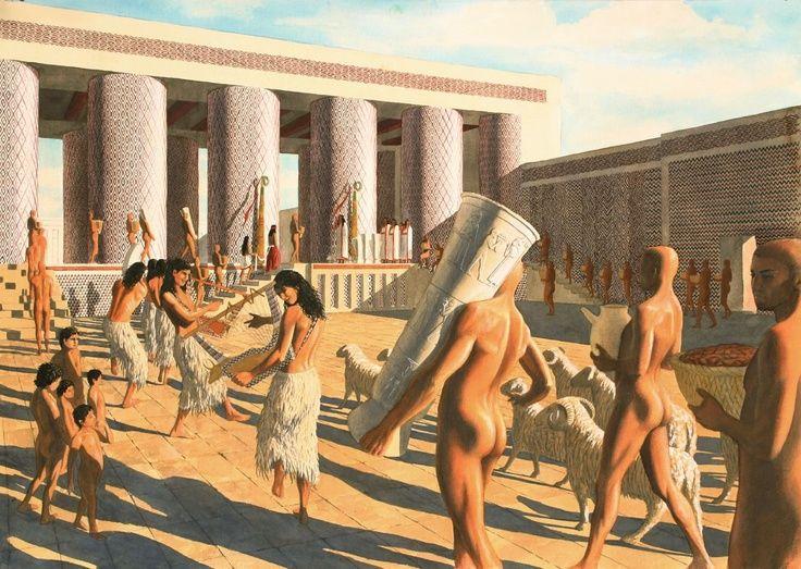 Uruk-Sumer-Mesopotamia on Pinterest | Sumerian, Temples and Woman Dresses