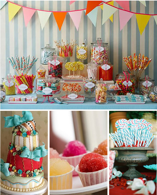 Wedding Sweet Table Desserts: Wedding Cakes And Desserts