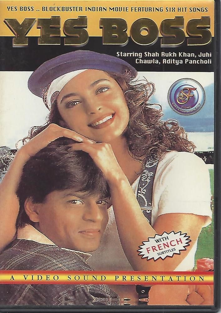 Yes, Boss (DVD, Color, English subtitles) Shah Rukh Khan