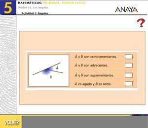 Unidad 12: Los ángulos - Colegio de Educación Infantil y Primaria Joaquin Carrion Valverde Tercer Ciclo de Primaria