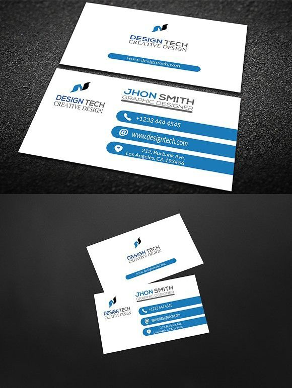 Design Tech Business Card Creative Business Card Templates