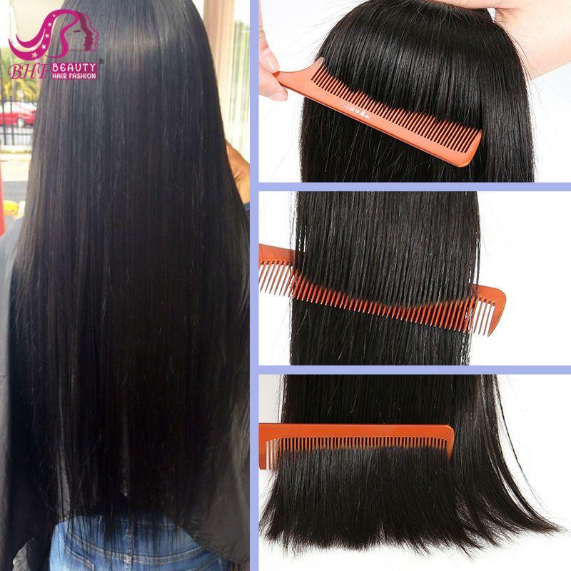 Bhf Clip In Virgin Brazilian Straight Hair Clip In Human Hair