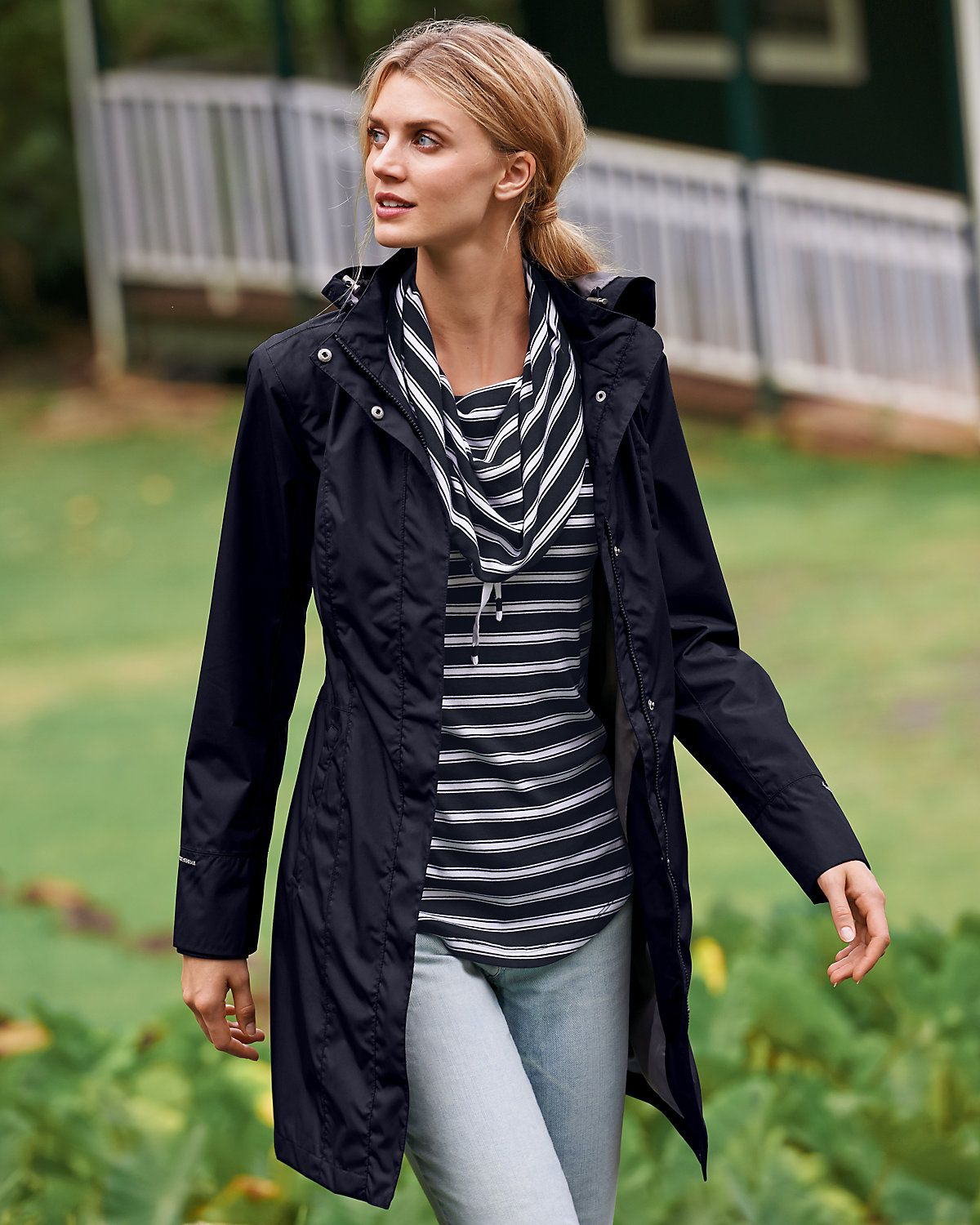 Women's Girl On The Go® Trench Coat | Eddie Bauer | Rain & Wet ...