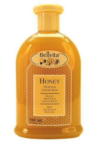 Herbaflor Naturals Bath & Shower Gel, Honey, 17 fluid ounces. (Pack of 3) Made with real honey and vegetable proteins.. Alkaline-free and pH-neutral, therefore suitable for sensitive skin.. Experience its outstanding caring properties in the bath or shower..  #Bellvita_Natural_Care #Beauty