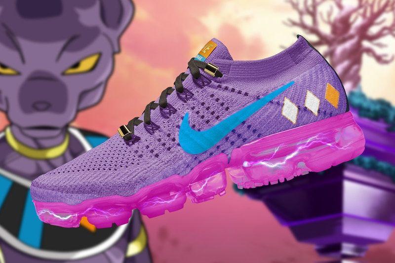 db9a00c0c0 This Artist Created the Ultimate 'Dragon Ball Super' x Nike Air VaporMax  Collaboration