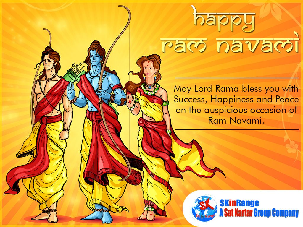 Wishing You all a Very Happy Ram Navami ! | SKinRange | Happy ram