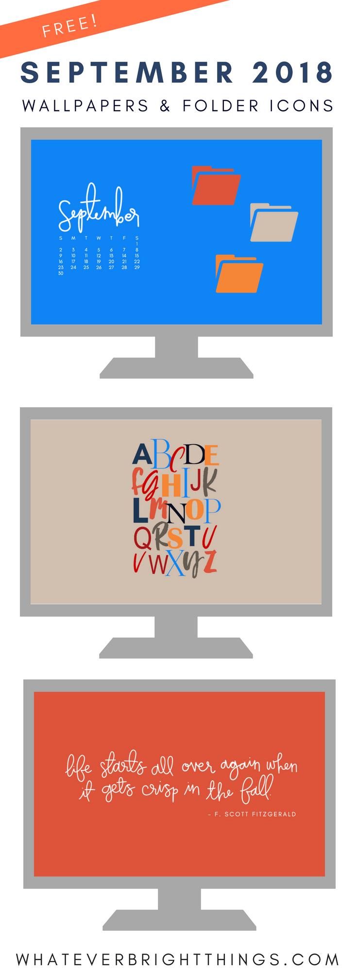 September 2018 Wallpapers & Folder Icons Folder icon