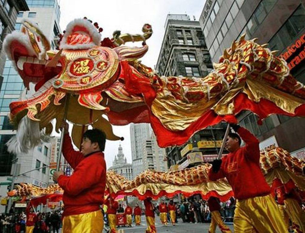 Go to China for chinese new year Chinese new year parade