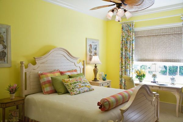 Bedroom Decorating Ideas Yellow Color Theme
